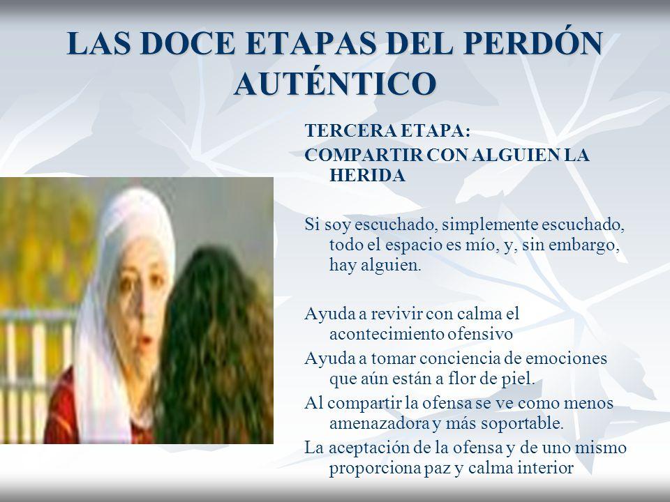 LAS DOCE ETAPAS DEL PERDÓN AUTÉNTICO 2.
