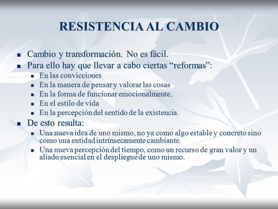 RESISTENCIA AL CAMBIO 5.
