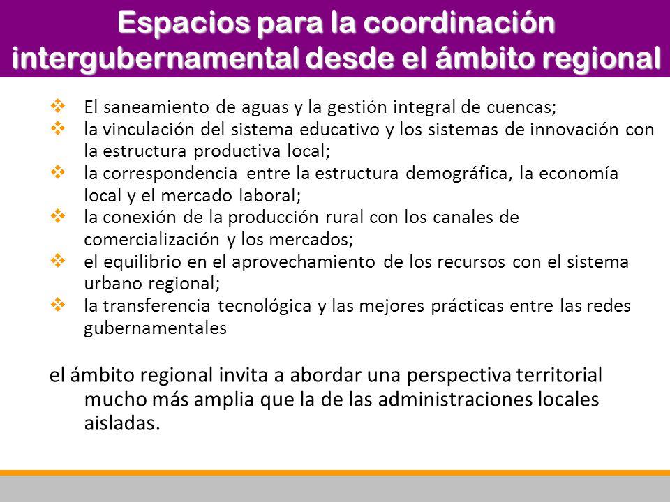 (a) Avance cualitativo en la descentralización y el federalismo.