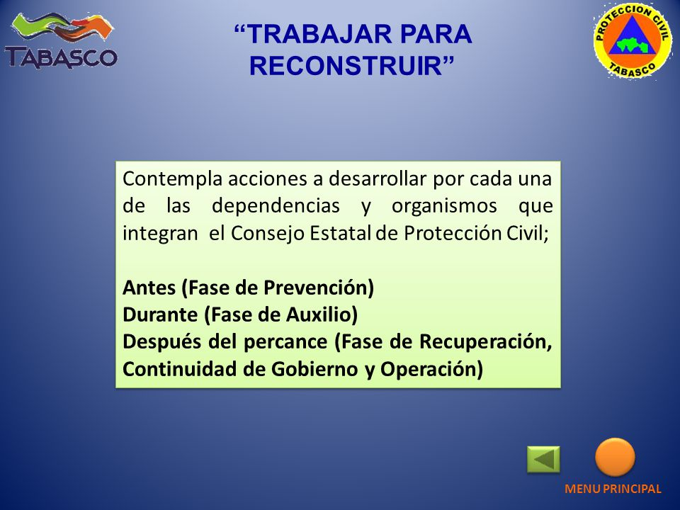 TRABAJAR PARA RECONSTRUIR Sucursal Regional Sureste DICONSA S.A.