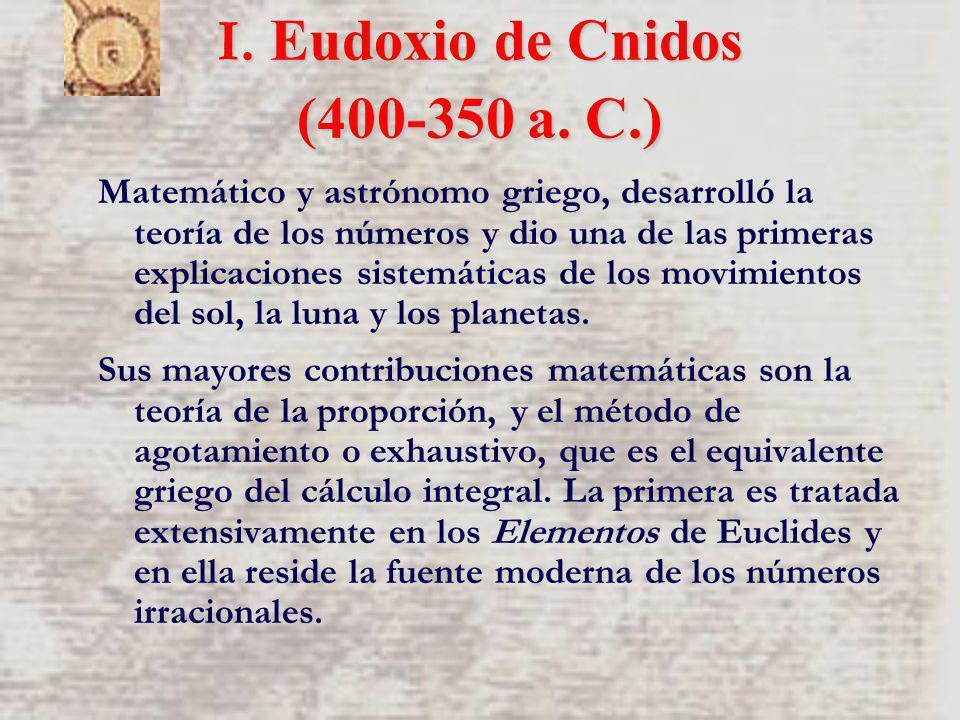 Matemático y astrónomo griego, desarrolló la teoría de los números y dio una de las primeras explicaciones sistemáticas de los movimientos del sol, la