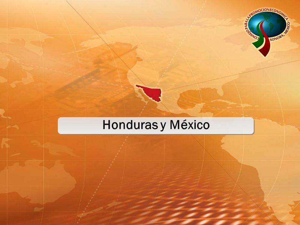 Honduras y México