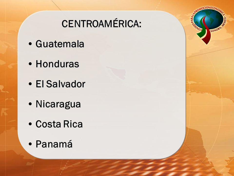 CENTROAMÉRICA: Guatemala Honduras El Salvador Nicaragua Costa Rica Panamá CENTROAMÉRICA: Guatemala Honduras El Salvador Nicaragua Costa Rica Panamá