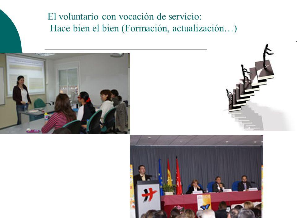 El voluntario con vocación de servicio: Su código ético se cimenta en el amor a la humanidad