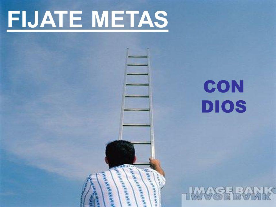 FIJATE METAS CON DIOS