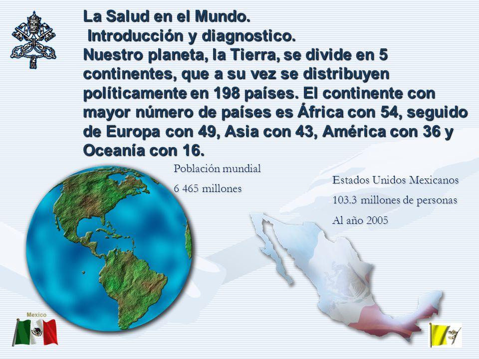 La Salud en el Mundo.Introducción y diagnostico.