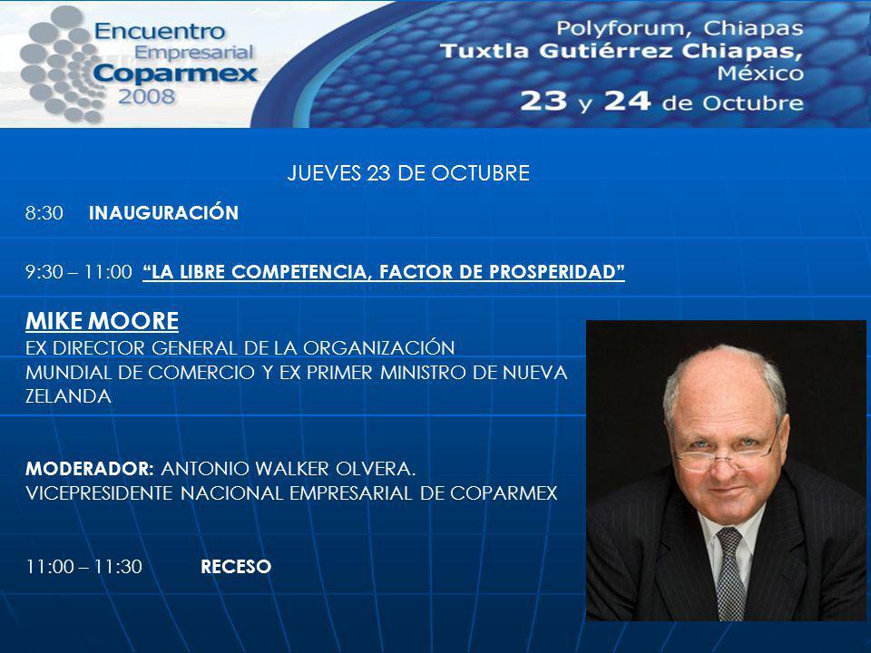 11:30 – 13:00 EL GOBIERNO Y LA LIBRE COMPETENCIA RODRIGO DE RATO Y FIGAREDO.