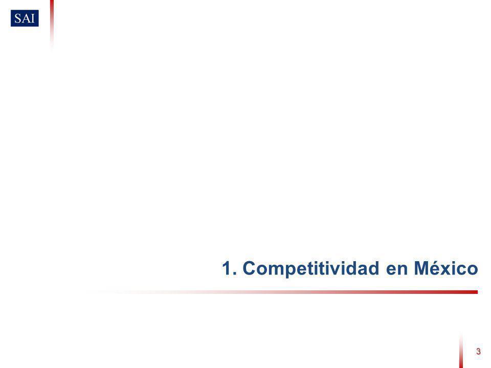 3 1. Competitividad en México