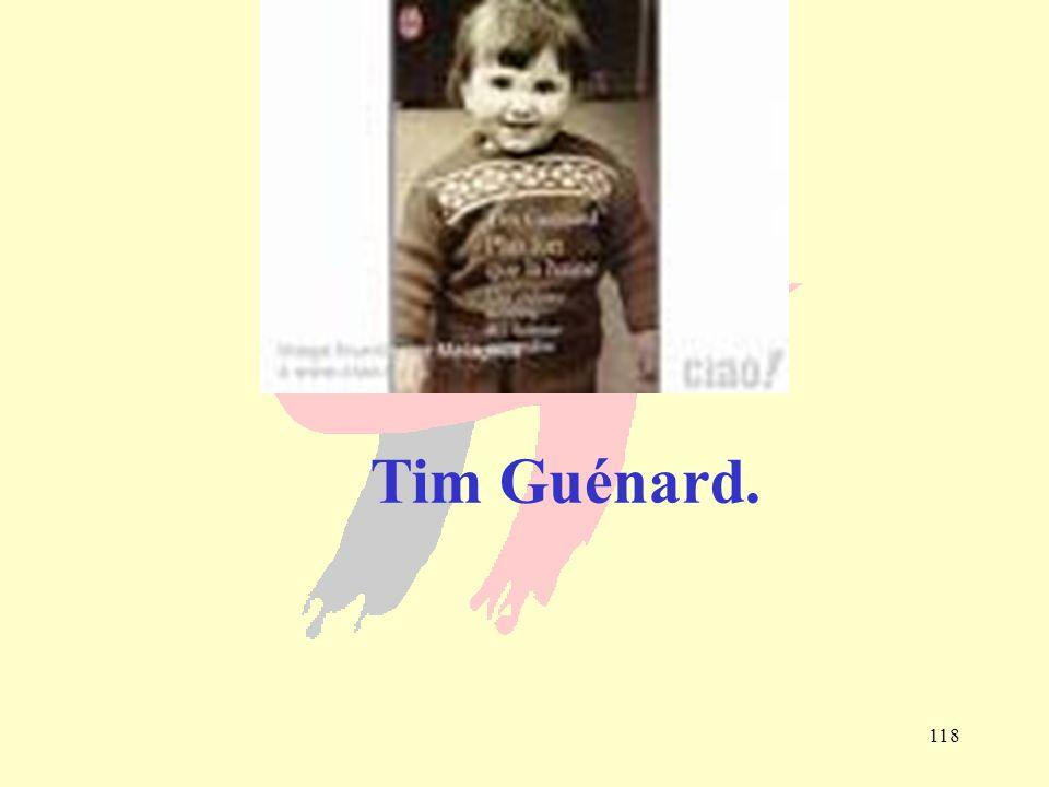 118 Tim Guénard.
