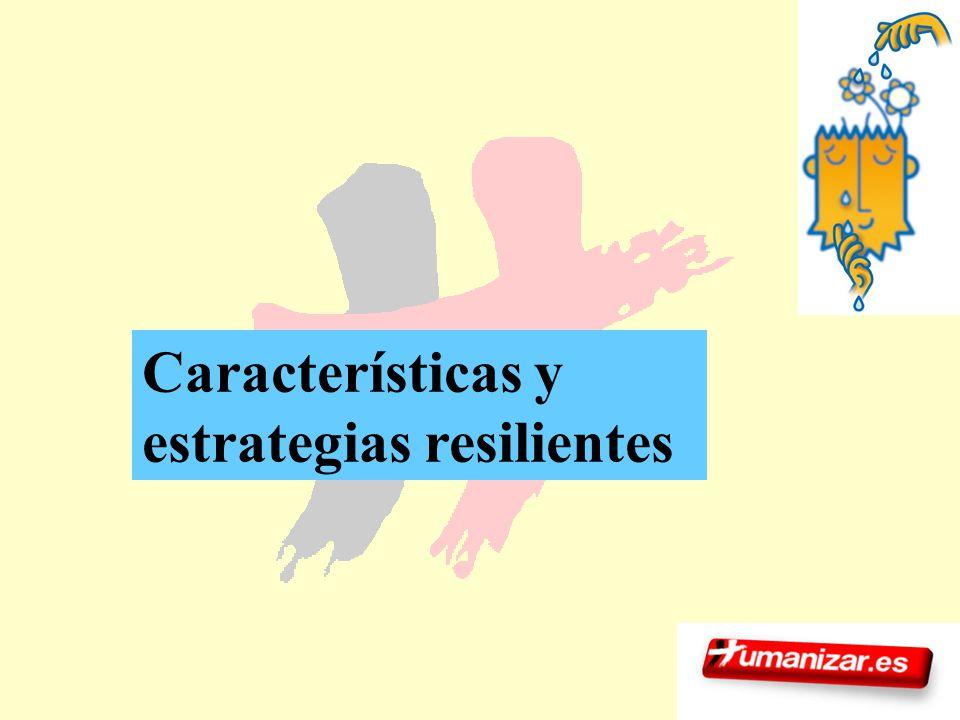 130 Características y estrategias resilientes