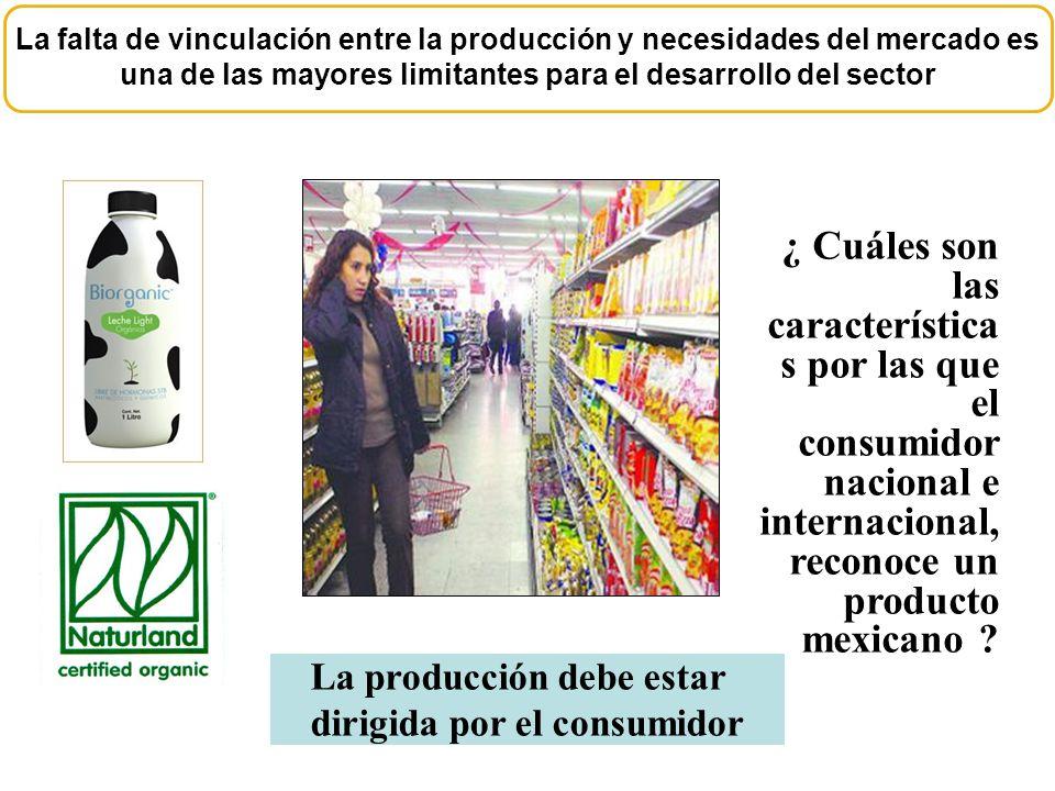 La falta de vinculación entre la producción y necesidades del mercado es una de las mayores limitantes para el desarrollo del sector ¿ Cuáles son las