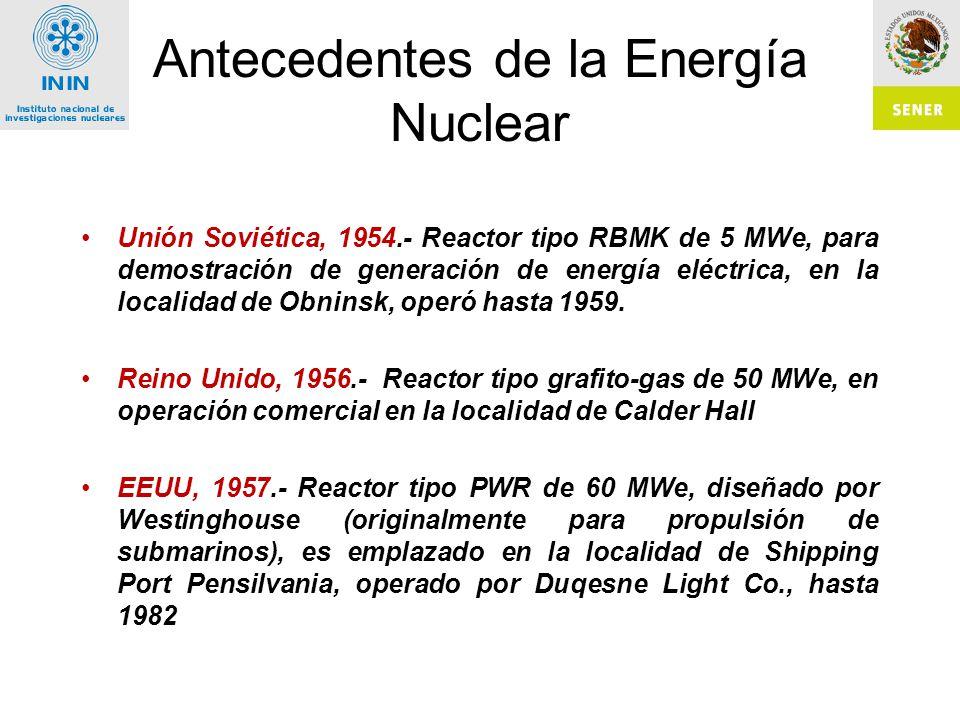 Generación Nuclear en México