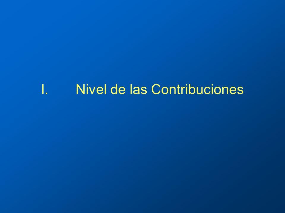 I.Nivel de las Contribuciones