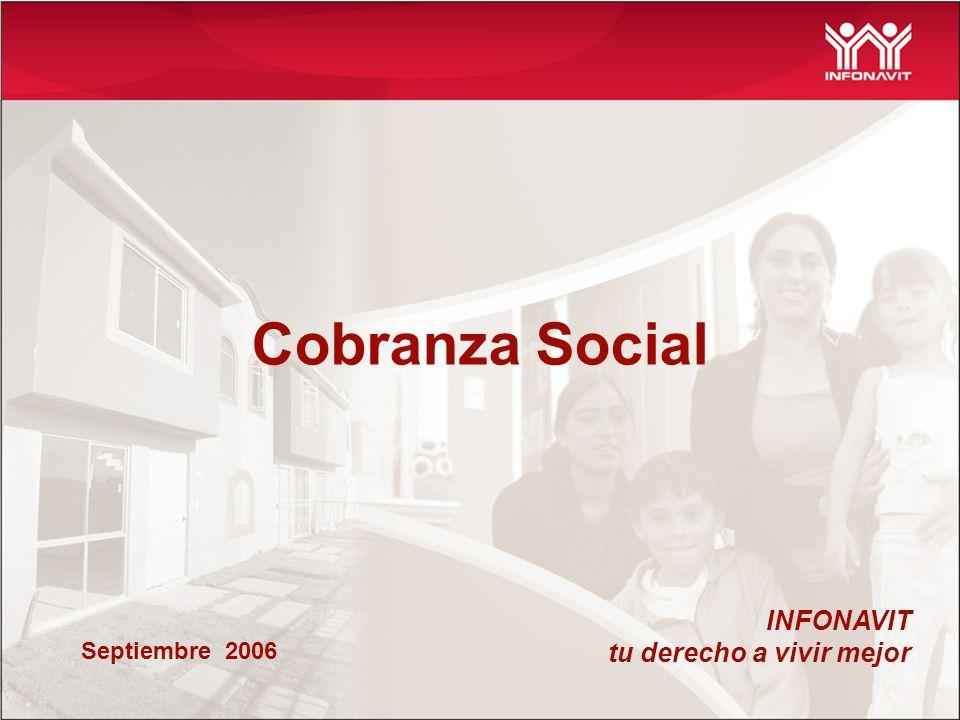 INFONAVIT tu derecho a vivir mejor Cobranza Social Septiembre 2006
