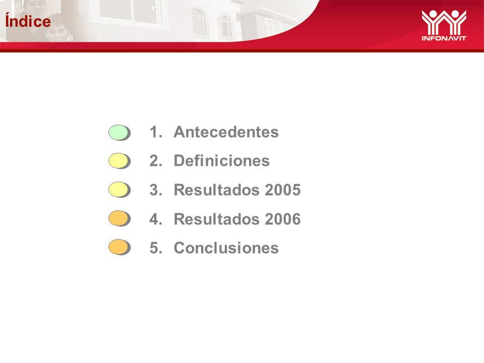 4.- Resultados 2006.1. Cobranza Social: a.