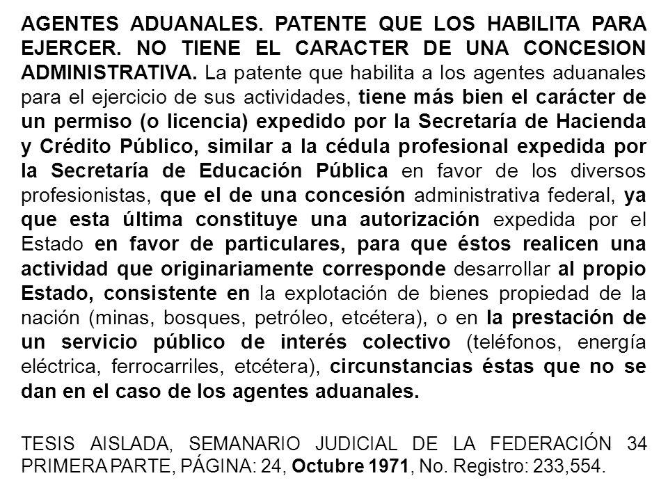 Hoy día es inaceptable el trato jurisdiccional que reciben los agentes aduanales, como mexicanos de segunda clase a quienes se priva de derechos sin audiencia previa en franca violación al principio de inocencia.