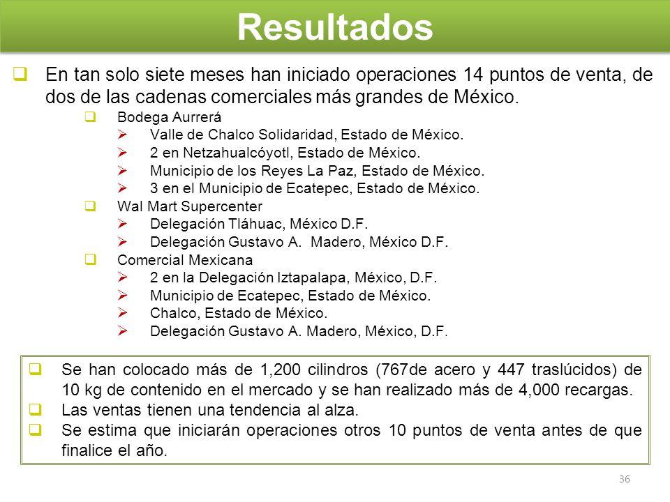 En tan solo siete meses han iniciado operaciones 14 puntos de venta, de dos de las cadenas comerciales más grandes de México. Bodega Aurrerá Valle de
