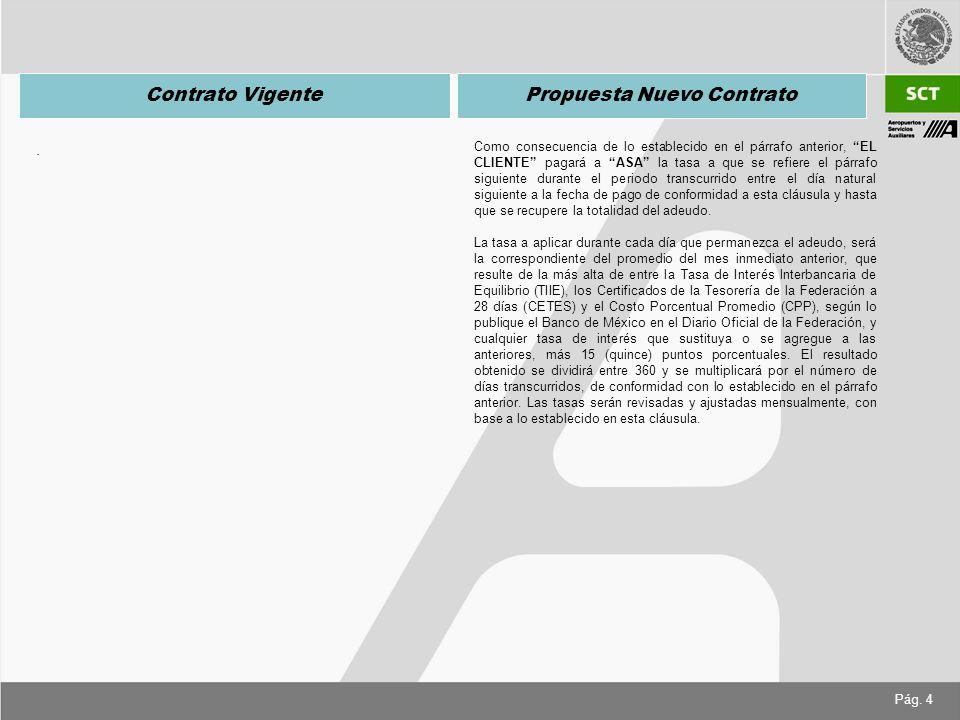 Pág. 4 Contrato VigentePropuesta Nuevo Contrato.