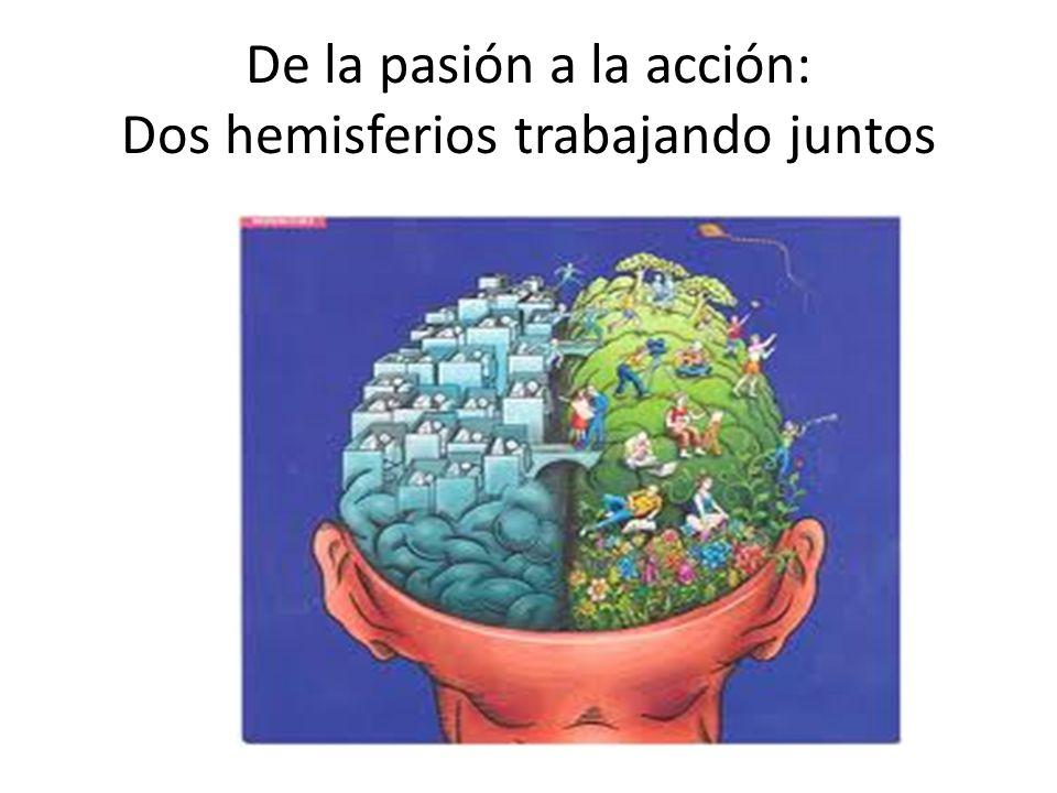 De la pasión a la acción: Dos hemisferios trabajando juntos