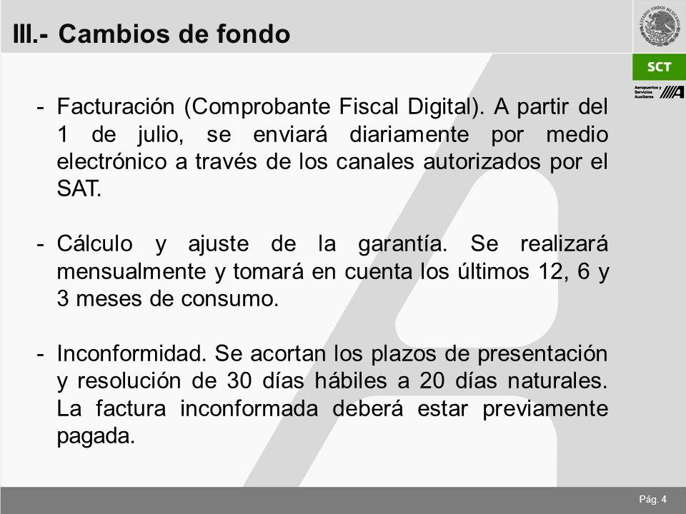 Pág. 4 -Facturación (Comprobante Fiscal Digital).