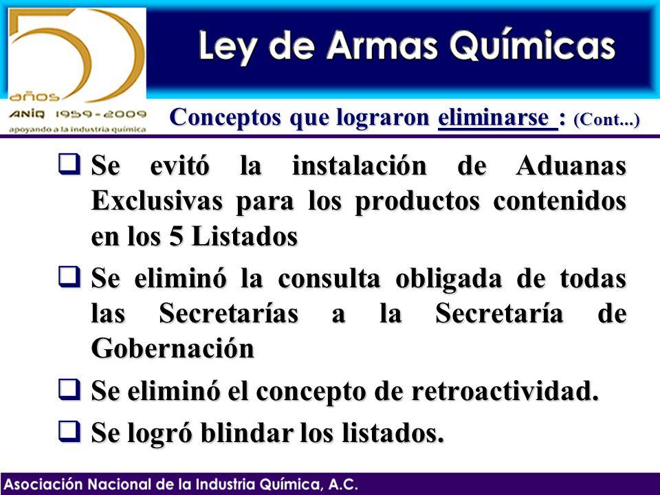 8.Transitorios Se deberán publicar en el Diario Oficial, las sustancias del Listado Nacional con sus fracciones.