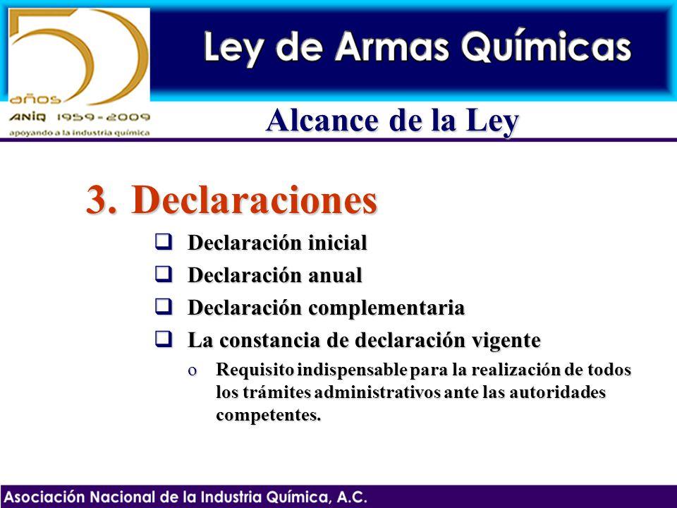3.Declaraciones Declaración inicial Declaración inicial Declaración anual Declaración anual Declaración complementaria Declaración complementaria La c
