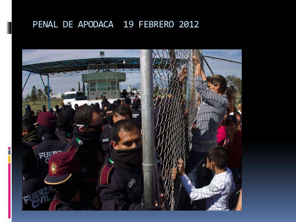 PENAL DE APODACA 19 FEBRERO 2012
