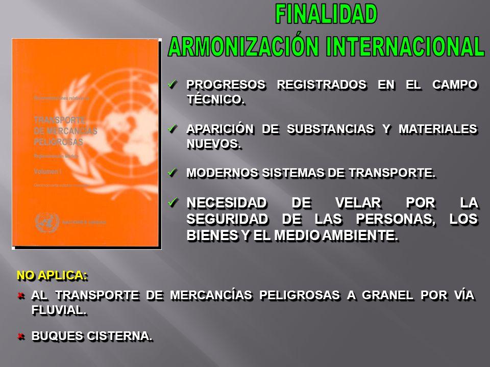 La etiqueta SGA y el pictograma y las marcas de comunicación de peligros (líquido inflamable) requeridos por las Recomendaciones relativas al transporte de mercancías peligrosas, Reglamentación Modelo, pueden también presentarse de forma combinada..