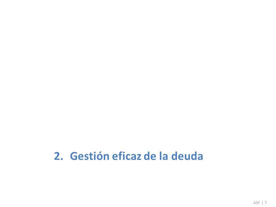 2.Gestión eficaz de la deuda ASF | 7