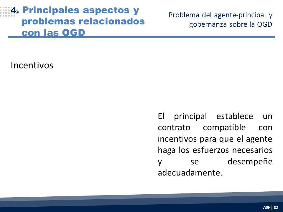 El principal establece un contrato compatible con incentivos para que el agente haga los esfuerzos necesarios y se desempeñe adecuadamente.