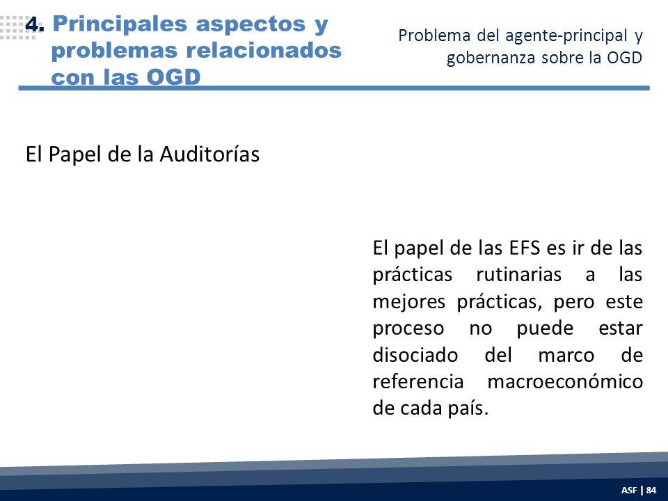 El papel de las EFS es ir de las prácticas rutinarias a las mejores prácticas, pero este proceso no puede estar disociado del marco de referencia macroeconómico de cada país.