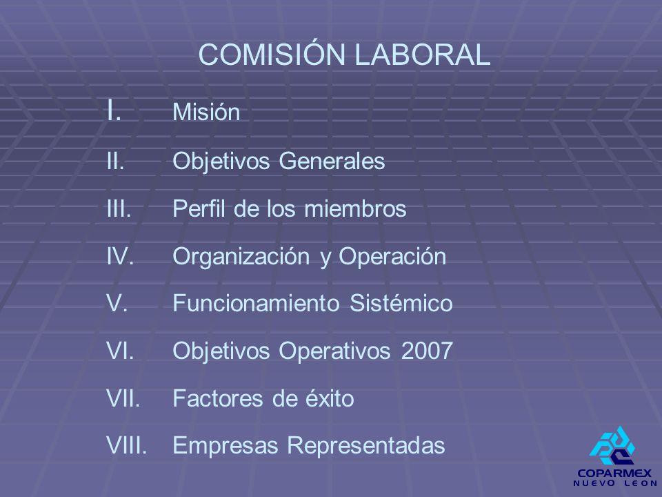 V.FUNCIONAMIENTO SISTEMICO DE LA COMISIÓN 2.