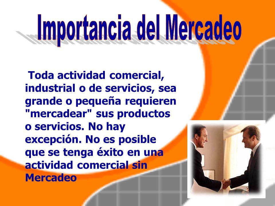 Redefine el concepto de mercadeo orientado al cliente, y se comienza a crear productos y servicios orientados a personas en particular, con la utiliza