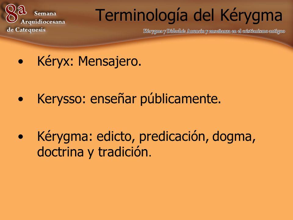 Kérygma y profetéia 1.El contenido de la epifanía es Jesús mismo.