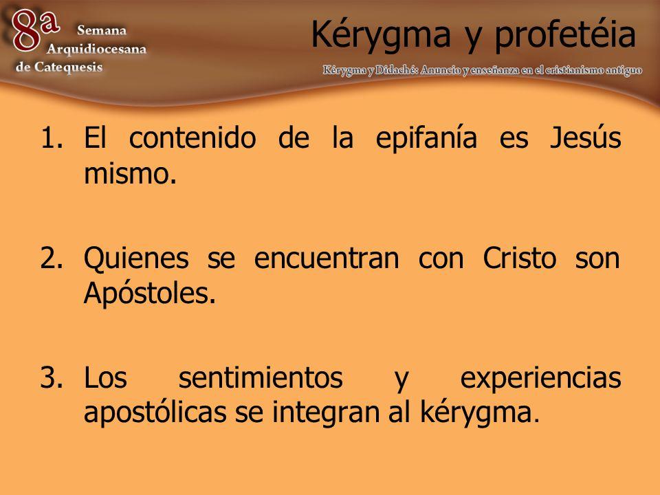 Profecía como fenómeno Anuncio – Juicio Anuncio – Salvación Anuncio y Revelación (apocalíptica y escatología)