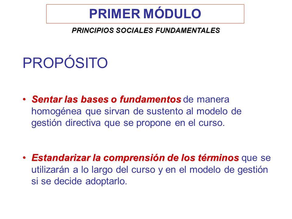 Sentar las bases o fundamentosSentar las bases o fundamentos de manera homogénea que sirvan de sustento al modelo de gestión directiva que se propone