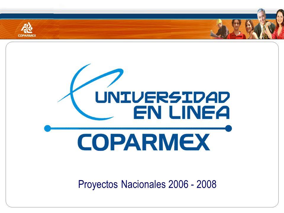 Proyectos Nacionales 2006 - 2008