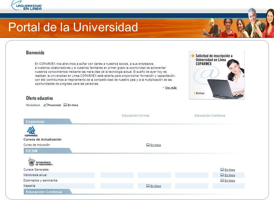 Portal de la Universidad