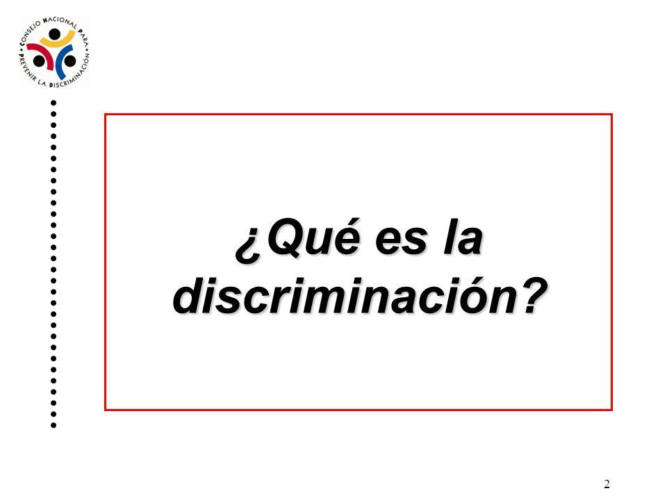 1 Análisis de casos sobre discriminación recibidos en el Conapred.