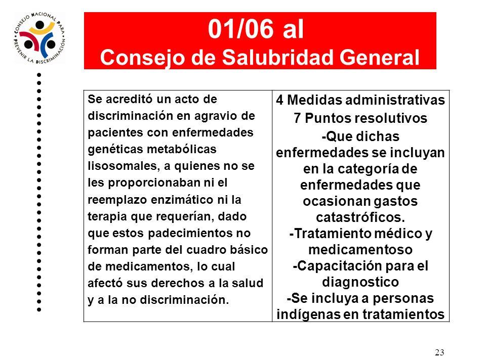 22 01/05 a la Secretaría de Marina Se acreditó un acto de discriminación en agravio de un miembro de la Secretaría de Marina, al haber sido dado de ba