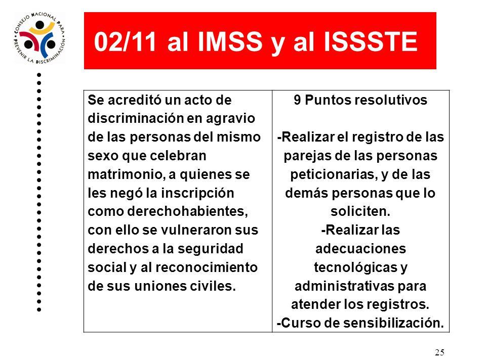 24 01/11 a la Secretaría de Educación Pública Se acreditó un acto de discriminación en agravio de alumnas y alumnos de comunidades indígenas del país