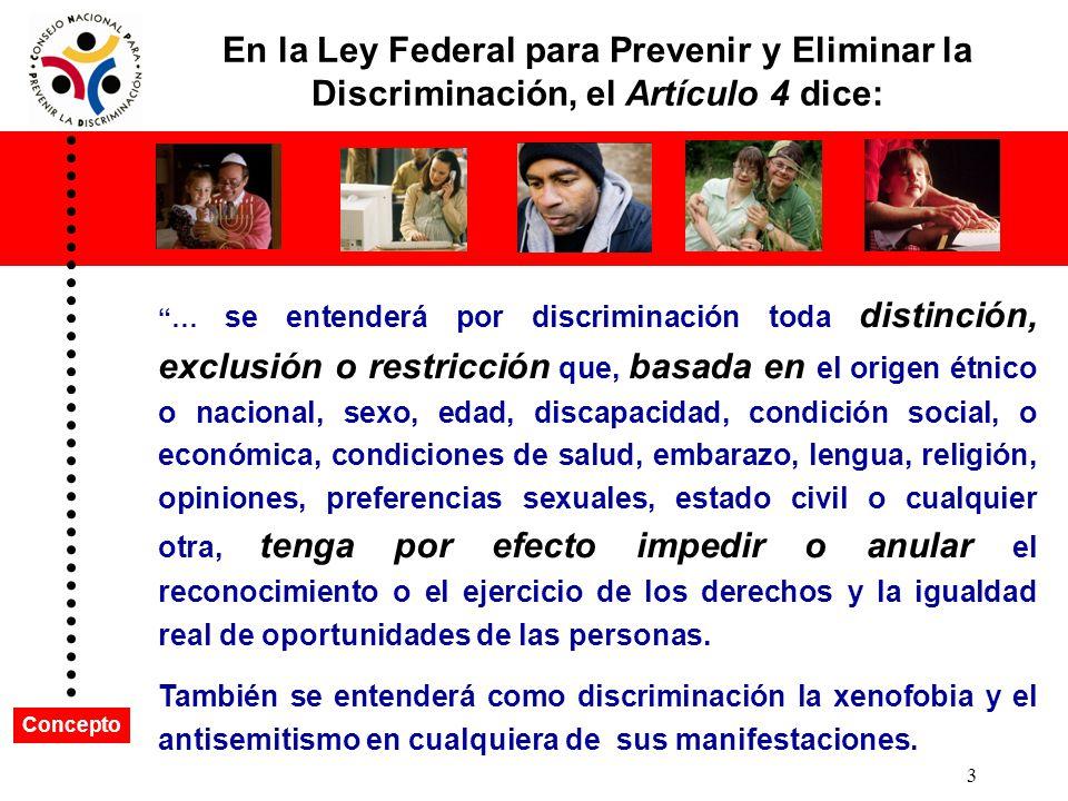2 ¿Qué es la discriminación?