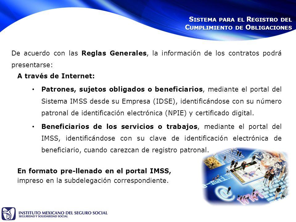 En formato pre-llenado en el portal IMSS, impreso en la subdelegación correspondiente.