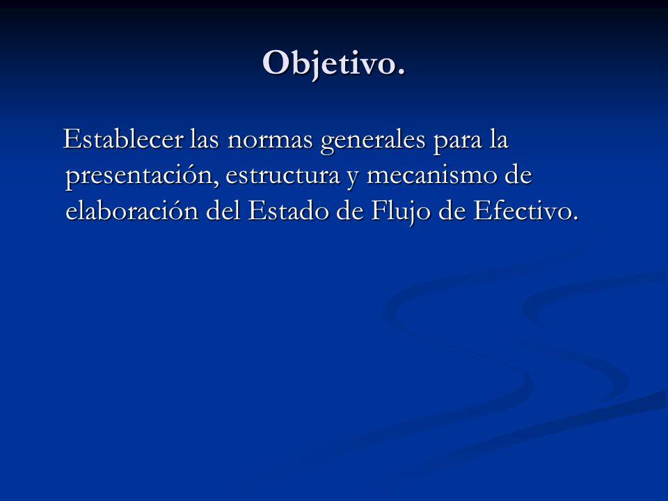 Estructura Actividades de Operación.Actividades de Operación.