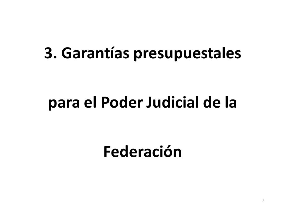 4. Consolidar el certiorari o facultad de atracción de la Suprema Corte de Justicia de la Nación. 8