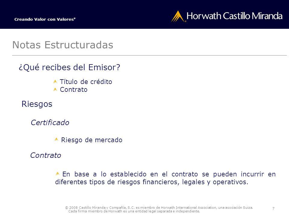 © 2008 Castillo Miranda y Compañía, S.C.