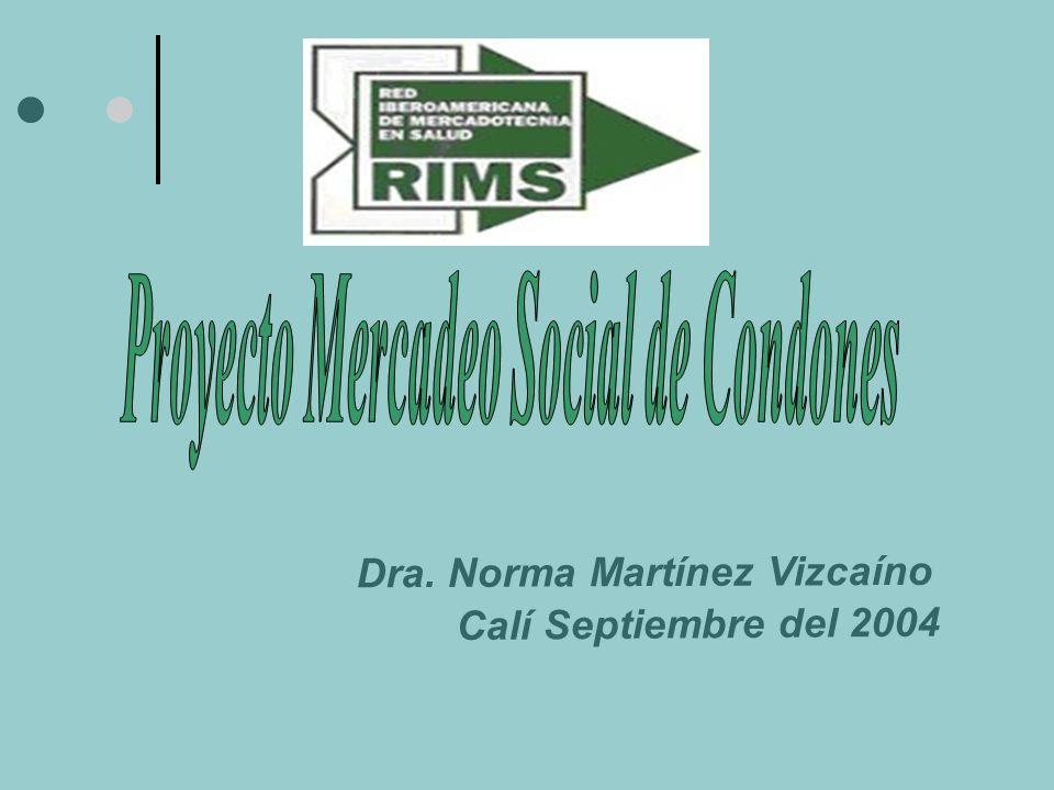 Dra. Norma Martínez Vizcaíno Calí Septiembre del 2004