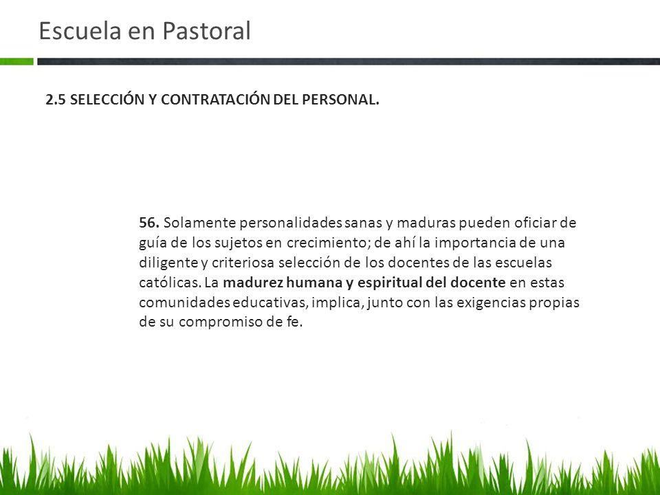 Escuela en Pastoral 56.