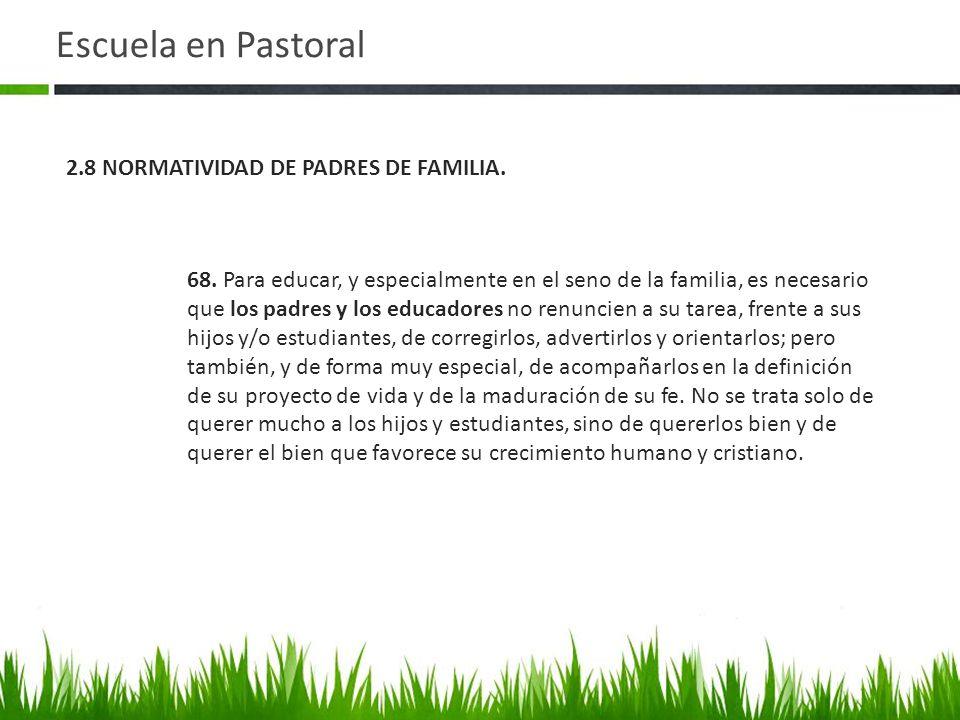 Escuela en Pastoral 68.