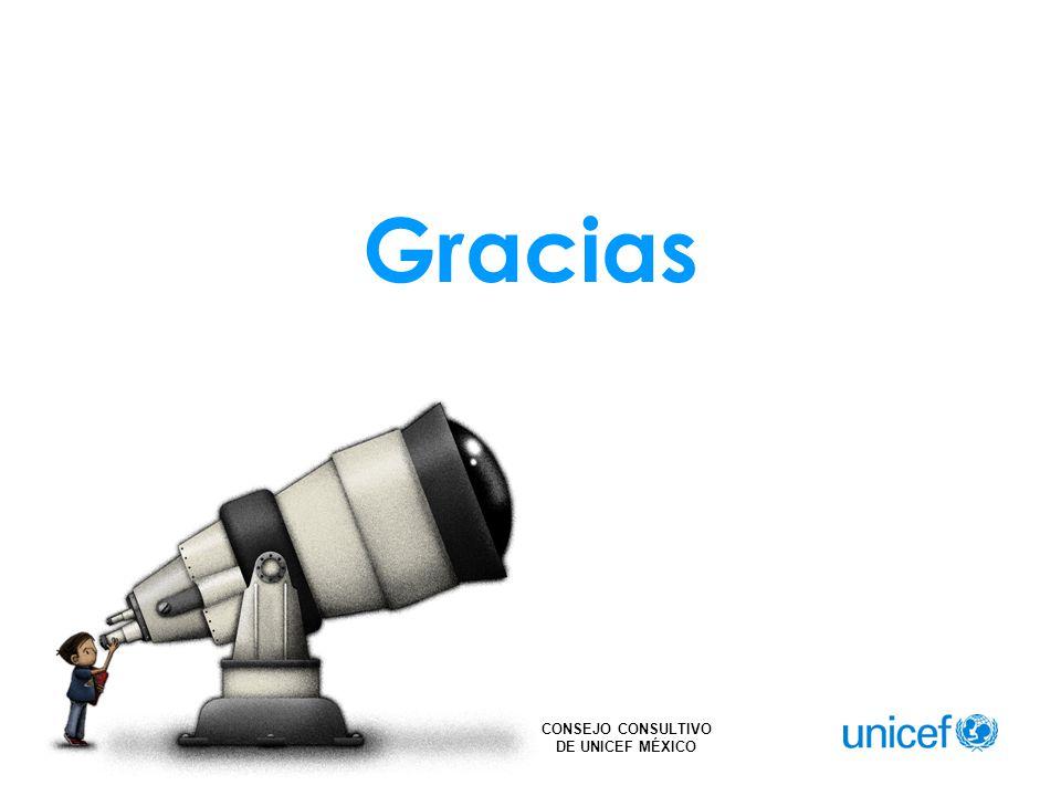 CONSEJO CONSULTIVO DE UNICEF MÉXICO Gracias